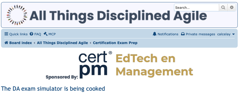 https://certificacionpm-158bf.kxcdn.com/wp-content/uploads/2020/11/The-DA-exam-simulator-is-being-cooked-All-Things-Disciplined-Agile-2020-11-15-12-16-56.png